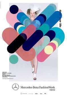 Japanese Advertisement: Tokyo Fashion Week. Rikako Nagashima.