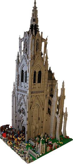 30 Best Lego Architecture Gothic Images On Pinterest Lego