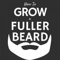 how to grow mustache faster medicine