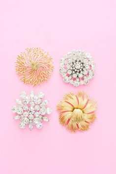 Statement Brooches from Sweet & Spark. Shop our gorgeous collection of vintage brooches now!