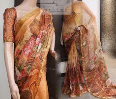 Code:0507173 - Price INR:5890/- , Printed Silk Kota Saree.