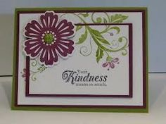flowering flourishes stampin up | stampin up flowering flourishes - Google Search