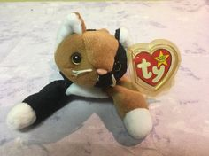 "TY Beanie Babies - ""Chip"" the Calico Cat - PVC #Ty"