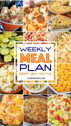 What's For Dinner? Weekly Meal Plan Family, Family Meal Planning, Family Meals, Menu Planning, Weekly Meals, Group Meals, Frugal Meals, Budget Meals, Easy Meals