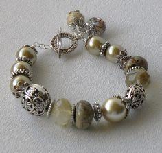 Willow Handmade Beaded Bracelet by bdzzledbeadedjewelry on Etsy, $34.00