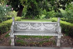 Image result for stone bench