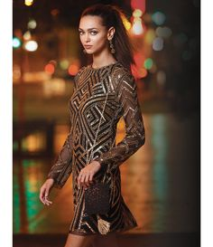 Shop for Gianni Bini Kim Geometric Sequin Dress at Dillards.com. Visit Dillards.com to find clothing, accessories, shoes, cosmetics & more. The Style of Your Life.