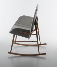 """BEEM"" BY ANNE MJÅSETH Rocking Chair, Chairs, Furniture, Home Decor, Chair Swing, Rocking Chairs, Decoration Home, Room Decor"