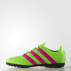 Adidas Men Futsal Outdoor Shoes ACE 16.4 Turf AF5057 Training Soccer Boots  Adidas  Soccer Boots 18eb68df68d23