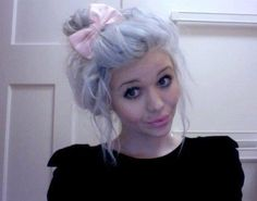 lilac hair. So much yes!