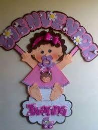 Resultado de imagen de cuadros de goma eva para bebes