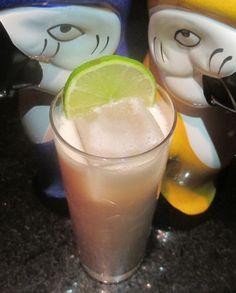 2oz rum 1oz grenadine 1oz coconut cream
