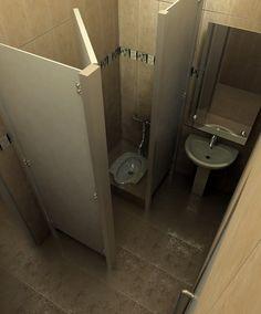kamar  mandi  wc  jongkok  minimalis desain  Pinterest