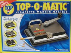 Topomatic Cigarette Machine with Handle