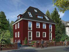 Toller Auftrag U2013 Fassade Sanieren Und Streichen U2013 Doch Welcher Farbton Soll  Es Werden?