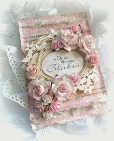 pracownia wycinanki: For Sunday evening - Scrapman with the wedding card :)