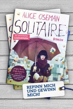 """<3 PINN MICH & GEWINN MICH <3 """"Solitaire"""" - ein Roman wie """"Der Fänger im Roggen"""" für das Digitalzeitalter. Die 16-jährige Heldin verliert sich beinahe zwischen Erfolgs-, Zukunfts- und Erlebnisdruck der modernen Welt, bis ein nerviger Junge mit Hipster-Brille und ein anonymes Chaos-Kollektiv sie aus der Lethargie reißen. Dringende Empfehlung!"""