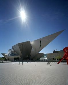 Denver Art Museum - Daniel Libeskind. Great architecture for both the new and old building. The highlight for me is all the kids activities they have. My 3 and 5 year old want to go every time we are in Denver they love it so much!