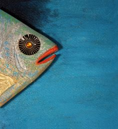 Testa di Pesce di TraLeMappe su Etsy