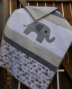 Hey, I found this really awesome Etsy listing at https://www.etsy.com/listing/474898277/elephant-baby-blanket-gender-neutral