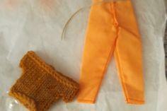Handmade  Trouser Set Outfit for Barbie Dolls   (nannycheryloriginal) 1284 £3.50