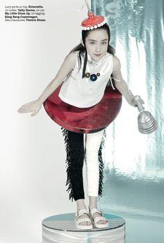 Space kids fashion story for Milk magazine summer 2015