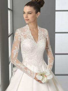 Belle robe mariée hiver et printemps