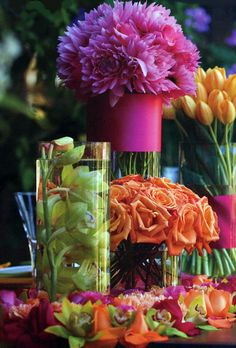 Save on Crafts - Wedding Supplies, Flowers, Tulle, Lights, Decorations & Discount Craft Supplies Save-on-crafts Spring Flower Arrangements, Spring Flowers, Floral Arrangements, Table Arrangements, Deco Floral, Arte Floral, Floral Design, Party Decoration, Wedding Decorations
