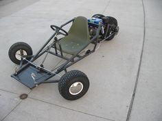 Scorpion Three Wheeled Go Kart Plans