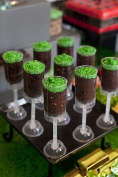 Wooloo | Une fête sous le thème de Minecraft