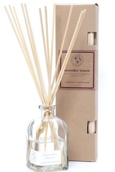 reed diffuser LAVENDER LEMON | Eco Candle Co. Home Scents, Home Fragrances, Candle Diffuser, Oil Diffuser, Essential Oil Blends, Essential Oils, Homemade Reed Diffuser, Scent Sticks, Oil Candles