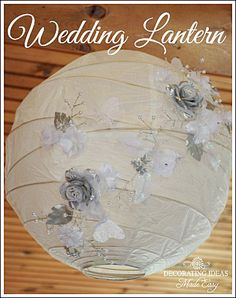 Wedding decorations on a budget!  Yes you can have a gorgeous wedding on a budget!  Want to see?