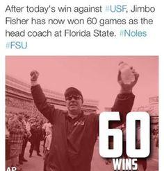 Congrats to Jimbo on 60 wins.