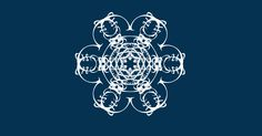 I've just created The snowflake of Claire n Roger.  Join the snowstorm here, and make your own. http://thebookofeveryone.com/specials/make-your-snowflake/