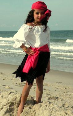 Kinder Piraten Piraten-Mädchen-Halloween-Kostüm
