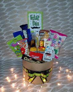 Food Bouquet, Food Platters, Candyland, Hamper, Pop Tarts, Ideas Para, Fathers Day, Spoon, Diy And Crafts