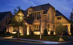 #Landscapelighting can take both the look of your home and yard to the next level. A well-designed lighting system turns any landscape into a magical place after dusk. It adds character and beauty that is breathtaking.