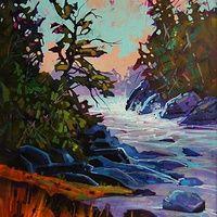 Crystal Cove Corner Acrylic 18x24 2014