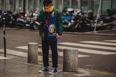 Street style Fashion Week homme automne hiver 2018 2019 Paris 35
