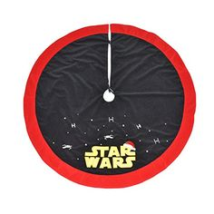 A Star Wars Christmas: 30 Star Wars Gift Ideas Horseshoes & Hand Grenades - Star Wars Family - Ideas of Star Wars Family - A Star Wars Christmas: 30 Star Wars Gift Ideas Star Wars Christmas Decorations, Star Wars Christmas Tree, Christmas Tree Themes, Christmas Crafts, Christmas Ideas, Xmas Tree, Star Wars Crafts, Star Wars Decor, Star Wars Weihnachten