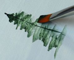 Diy Crafts Ideas : How To Paint Trees Detailed Instructions