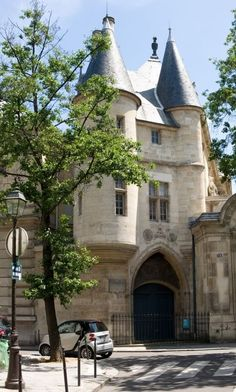 Tour Jean sans Peur ~ built 1409-1411, 20 Rue Etienne Marcel, Paris-formerly owned by the Duke of Burgundy