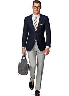 Jacket Blue Plain Havana C843i | Suitsupply Online Store