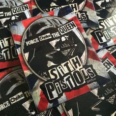 Image of Sith Pistols Force Choke The Queen Sticker