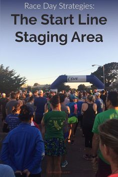 My least favorite time of race day is the hurry-up-and-wait of the start line. I want a time cushion in case of unforeseen traffic or parking issues, but then I have so much time to kill! On the blog - time management tips for the start line staging area on race day. Marathon. Half Marathon. Half Marathon Motivation, Marathon Tips, Disney Marathon, Half Marathon Training, Marathon Running, Running Motivation, Time Management Strategies, Running Inspiration, Runners World