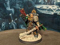 Deathwatch, Warhammer 40000, Gears, Samurai, Gear Train, Warhammer 40k, Samurai Warrior