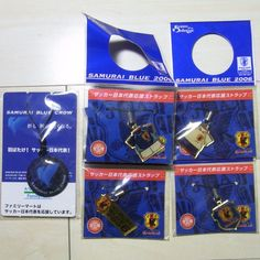 Football Japan National Team Jersey Charm 5pcs Set JFA KIRIN Samurai Blue Promo    eBay