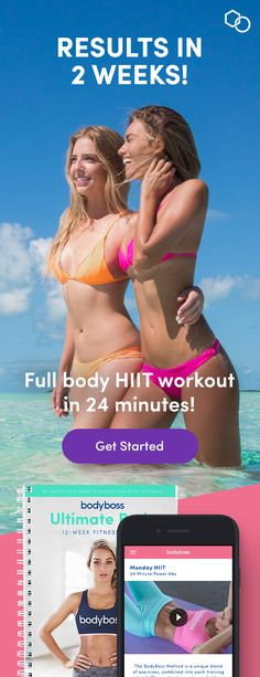 Get Real Fitness Results in just 2 weeks with the BodyBoss Method - Full body HIIT exercise plan. Full Body Workout At Home, At Home Workouts, Yoga Workouts, Extreme Workouts, Ab Exercises, Fitness Exercises, Body Boss Method, Burn Fat Build Muscle, Fitness Tips