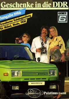 East German Vice: circa THIS hot little lime green Wartburg was not exactly living up to the 'Miami Vice' theme this guy was sporting Vintage Advertisements, Vintage Ads, Vintage Posters, Boy Pictures, Life Pictures, Miami Vice Theme, East German Car, Ddr Brd, Beast From The East
