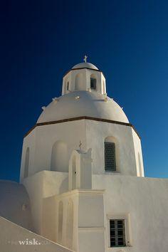 Church in Fira, Santorini, Greece